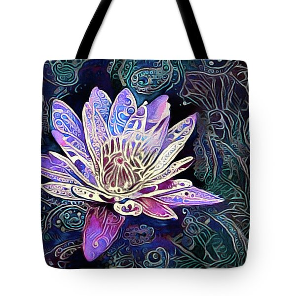 Lotus From The Mud Tote Bag
