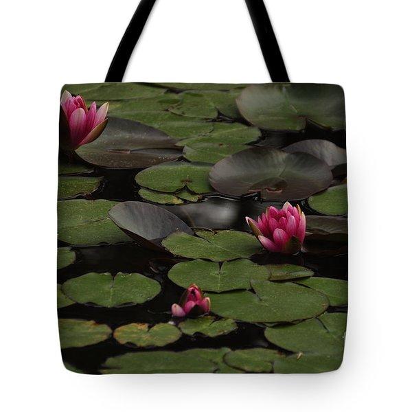 Lotus II Tote Bag