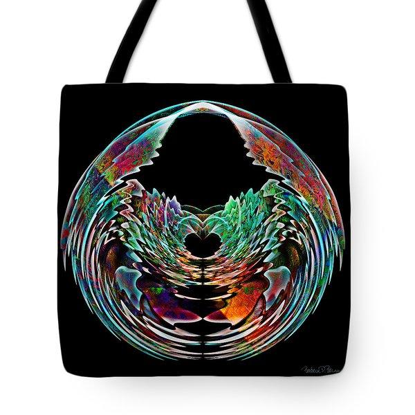 Lotus In A Bowl Tote Bag