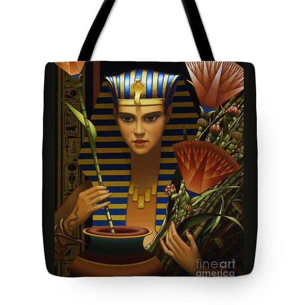 Lotus Tote Bag by Jane Whiting Chrzanoska