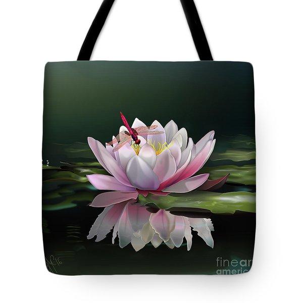 Lotus Meditation Tote Bag