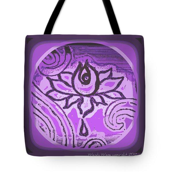 Lotus Mystic Muse Tote Bag