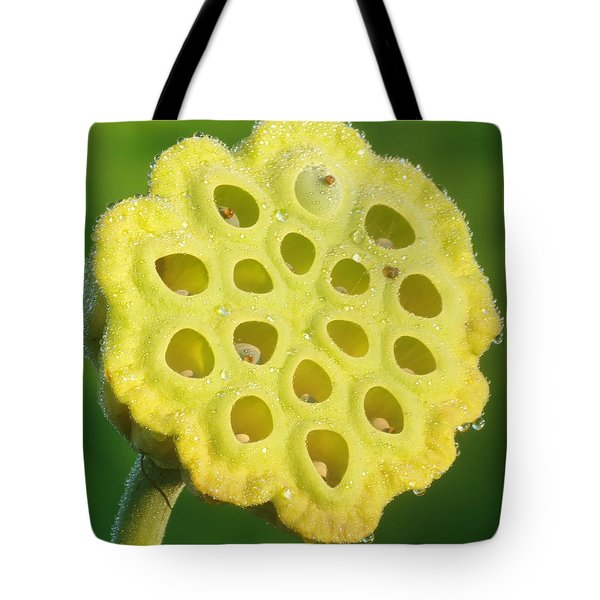 Lotus Pod Tote Bag