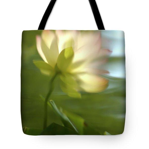 Lotus Reflection Tote Bag