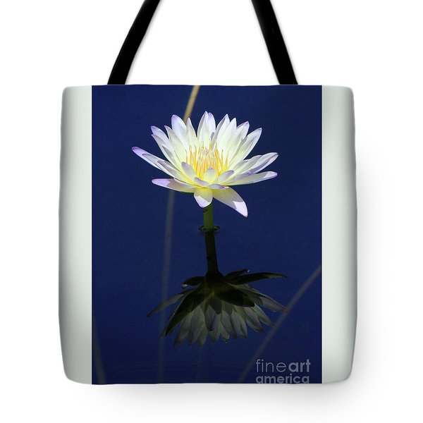 Lotus Reflection Tote Bag