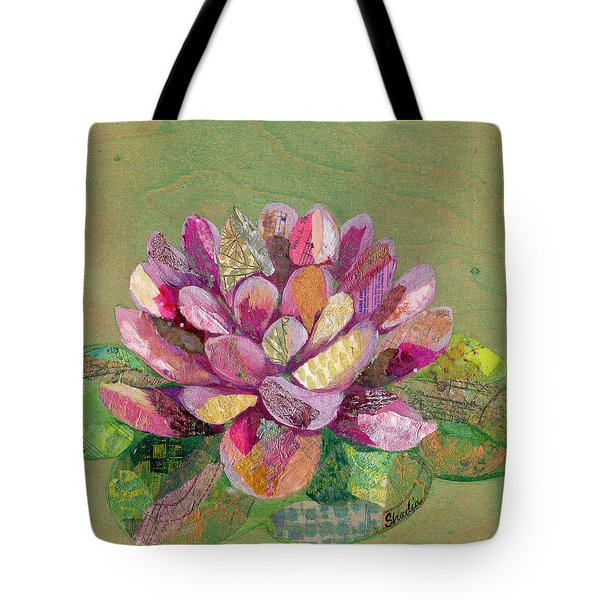 Lotus Series II - 3 Tote Bag