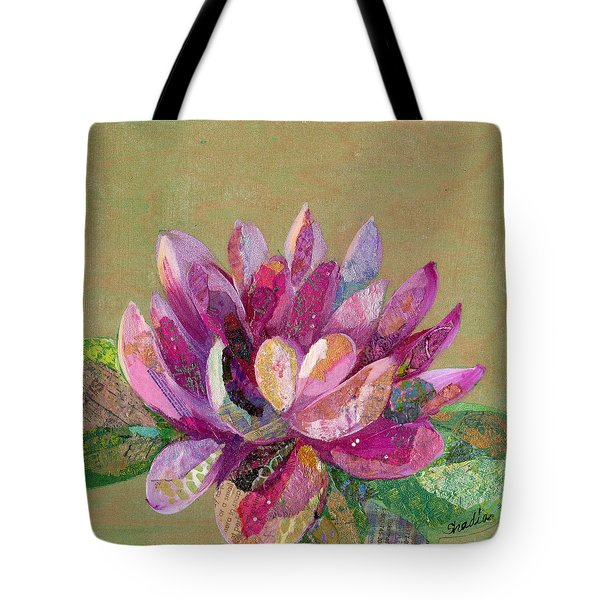 Lotus Series II - 4 Tote Bag