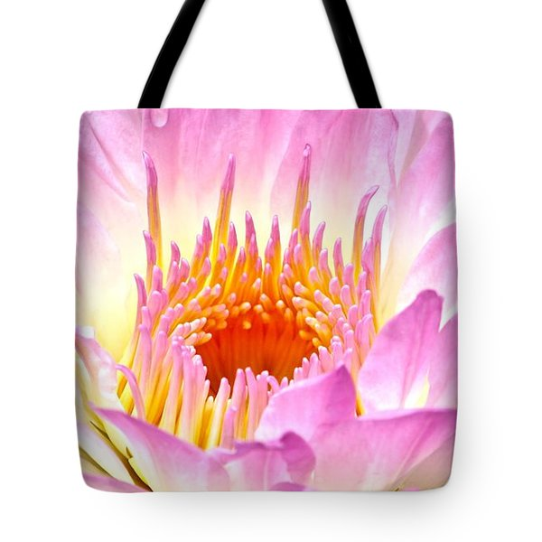 Lotus Trap Tote Bag