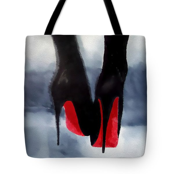 Louboutin At Midnight Tote Bag