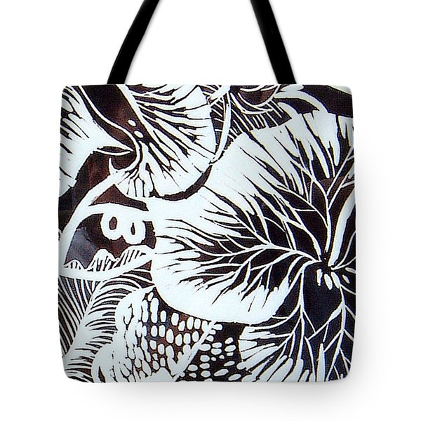 Loud Leaves  Tote Bag