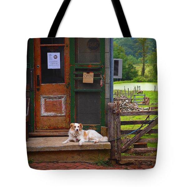 Loudoun Times Tote Bag by Skip Hunt