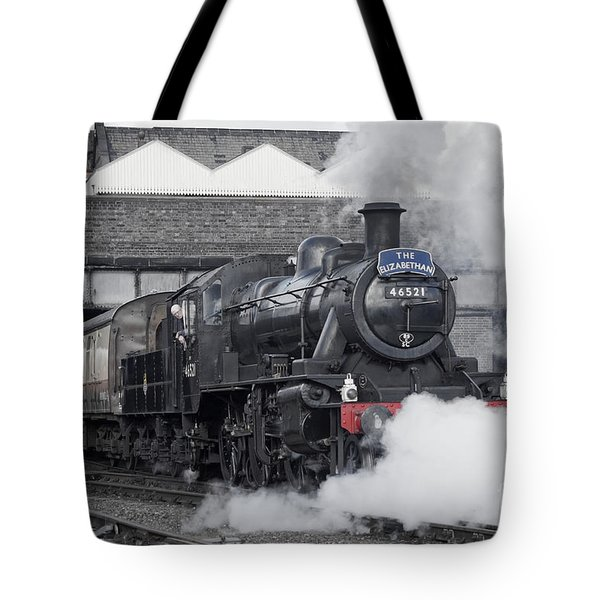 Tote Bag featuring the photograph Loughborough Departure by David Birchall