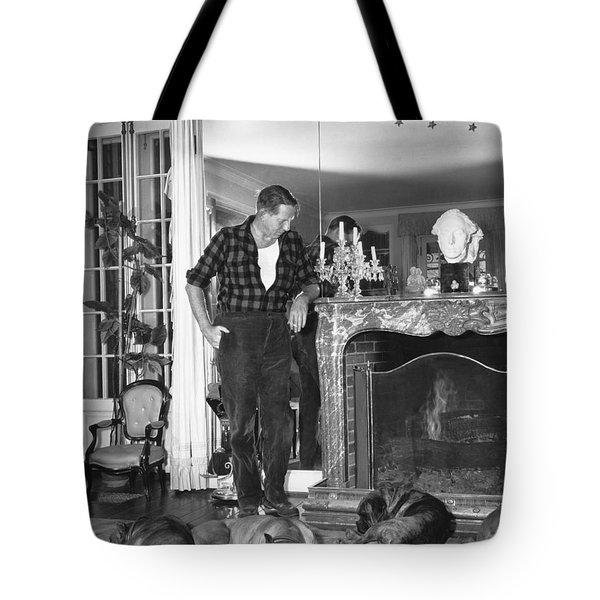 Louis Bromfield Tote Bag