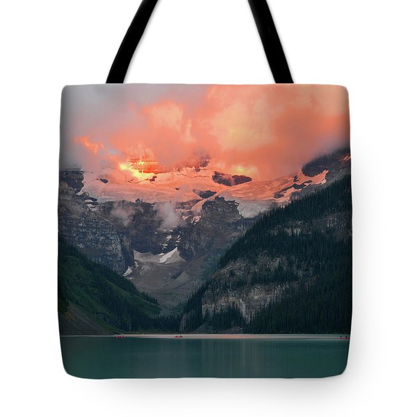 Tote Bag featuring the photograph Louis Lake by Yue Wang