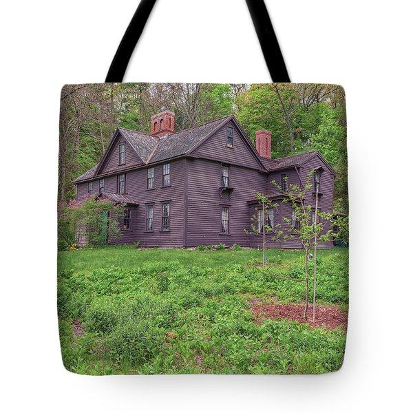 Louisa May Alcotts Orchard House Concord Massachusetts Tote Bag