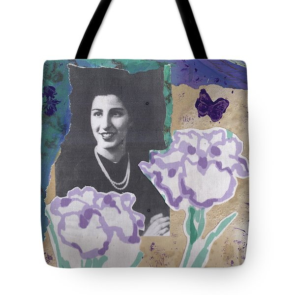 Louise In Boston 1944 In Memory Of My Mother Tote Bag