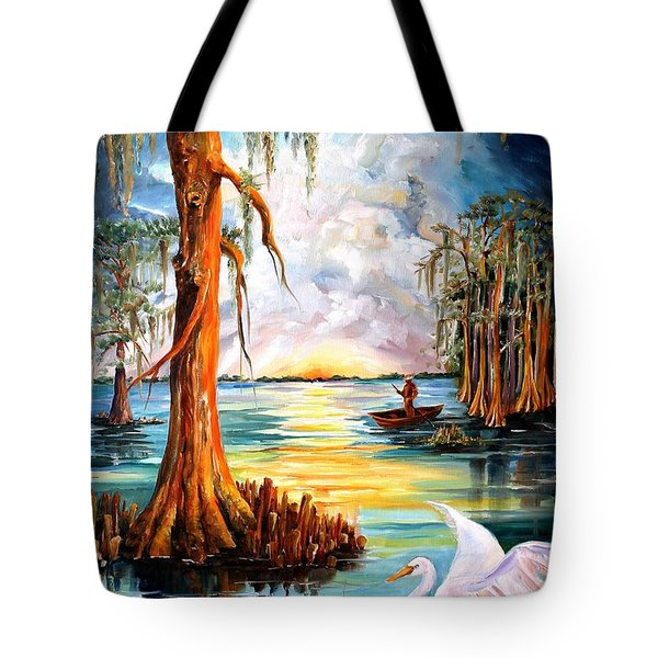 Louisiana Bayou Tote Bag