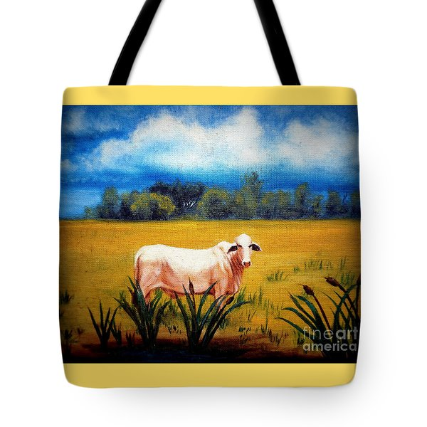 The Lonely Bull Tote Bag