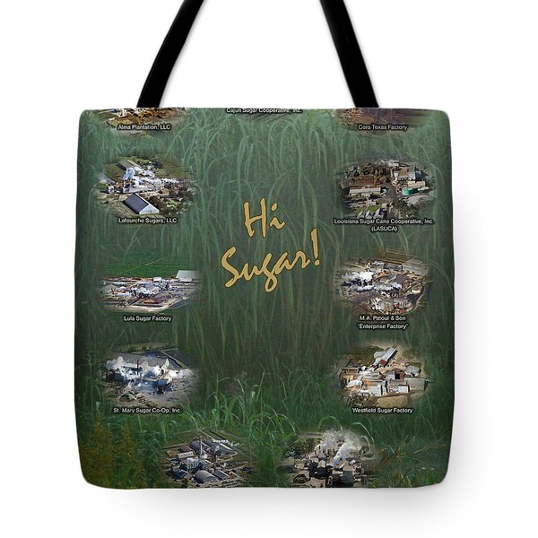 Louisiana Sugar Cane Poster 2008-2009 Tote Bag