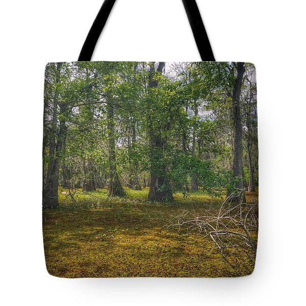 Louisiana Swamp Tote Bag