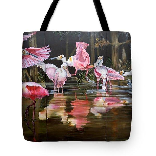 Louisiana Swamp Secrets Tote Bag
