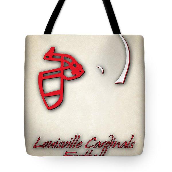 Louisville Cardinals Tote Bag by Joe Hamilton