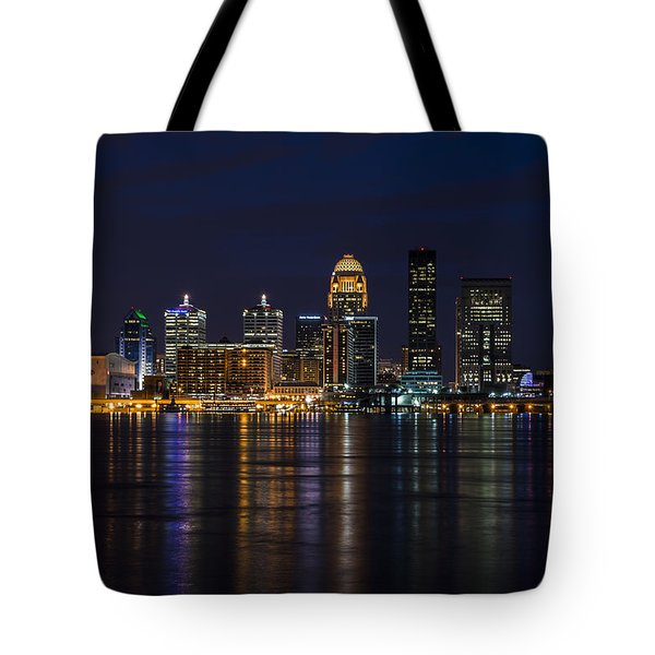 Tote Bag featuring the photograph Louisville Skyline by Andrea Silies