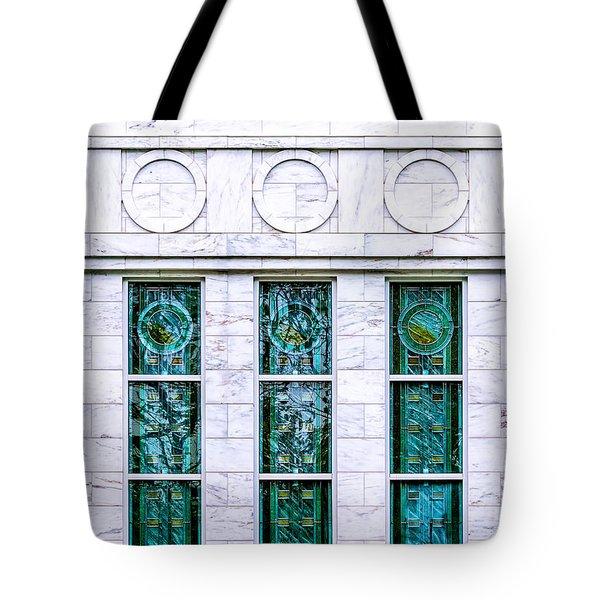 Louisville Temple Details Tote Bag