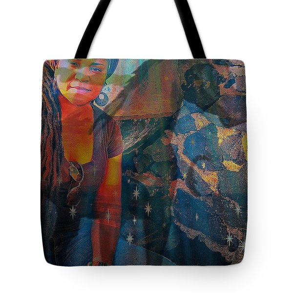 Loulou And Me Tote Bag