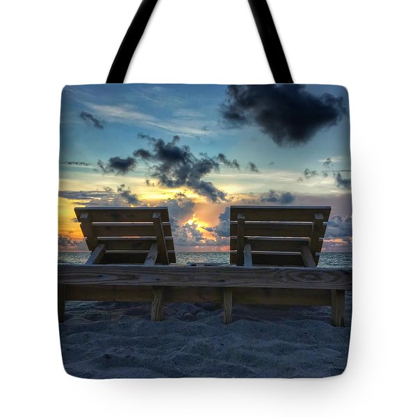 Lounge For Two Tote Bag