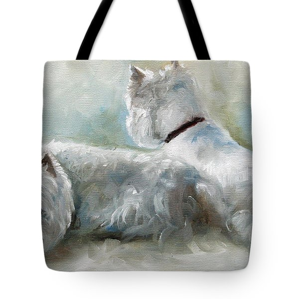 Lounge Tote Bag by Mary Sparrow