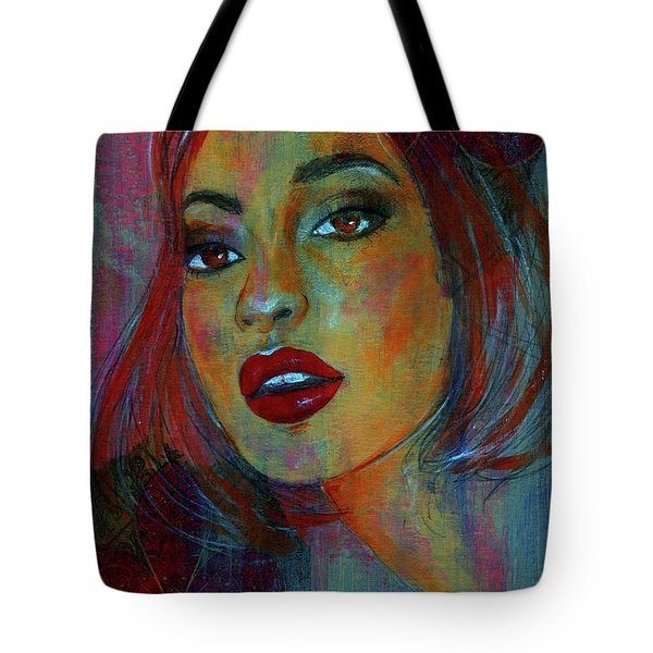 Tote Bag featuring the painting Lourdes At Twilight by P J Lewis