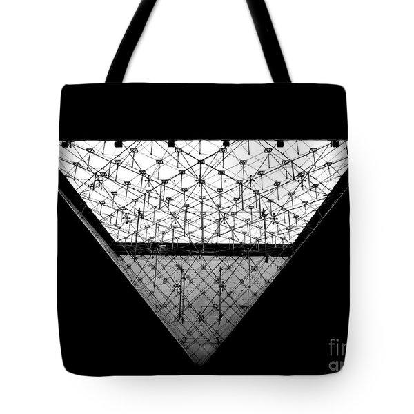 Lourve Pyramid Tote Bag