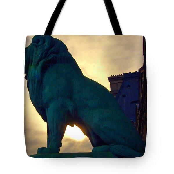 Louve Lion Tote Bag