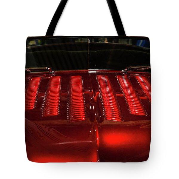 Louvered Hood Tote Bag by Joe Hudspeth