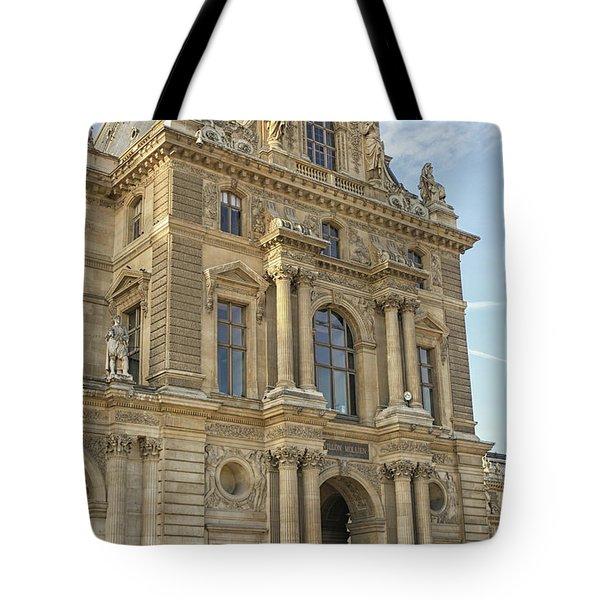 Louvre In Paris Tote Bag