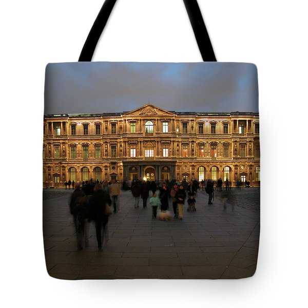 Tote Bag featuring the photograph Louvre Palace, Cour Carree by Mark Czerniec