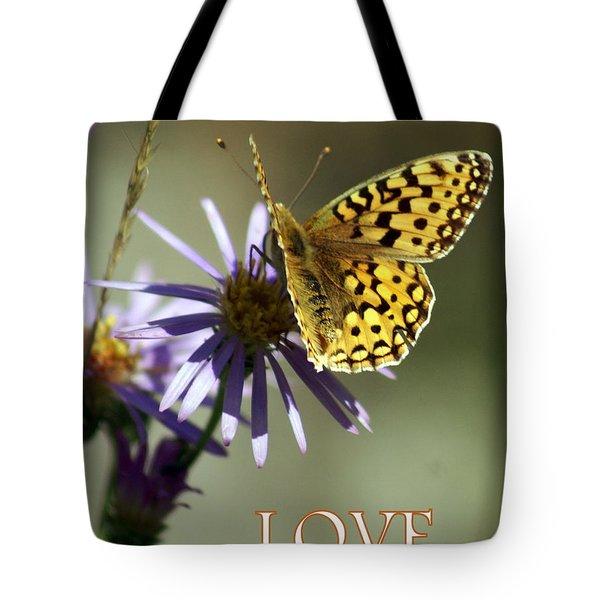 Love 1 Tote Bag by Marty Koch