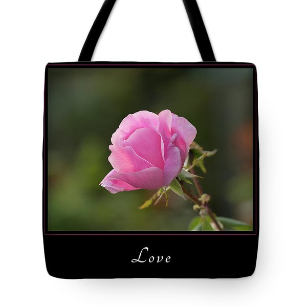 Tote Bag featuring the photograph Love 2 by Mary Jo Allen