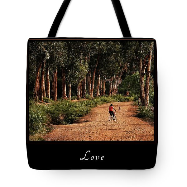 Tote Bag featuring the photograph Love 3 by Mary Jo Allen