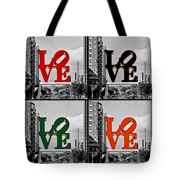 Tote Bag featuring the photograph Love 4 All by DJ Florek