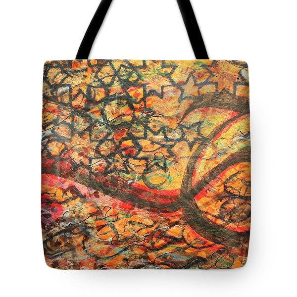 Love, A Pattern Of Life Tote Bag