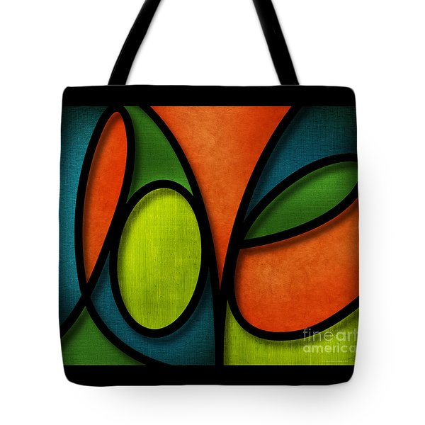 Love - Abstract Tote Bag