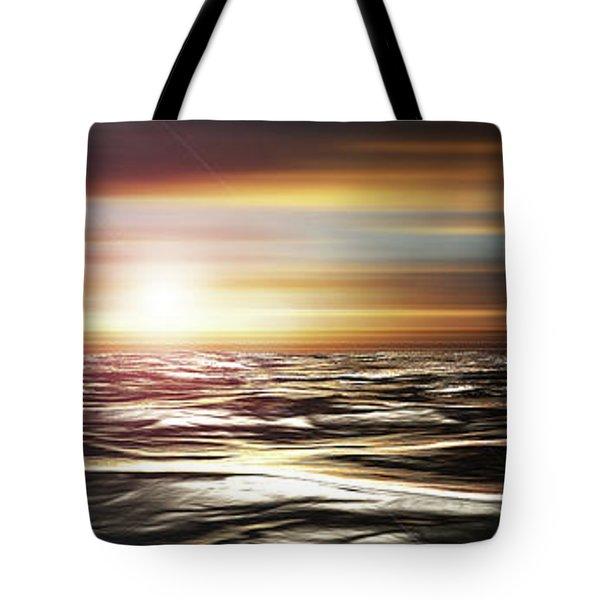 Love Across The Ocean Tote Bag