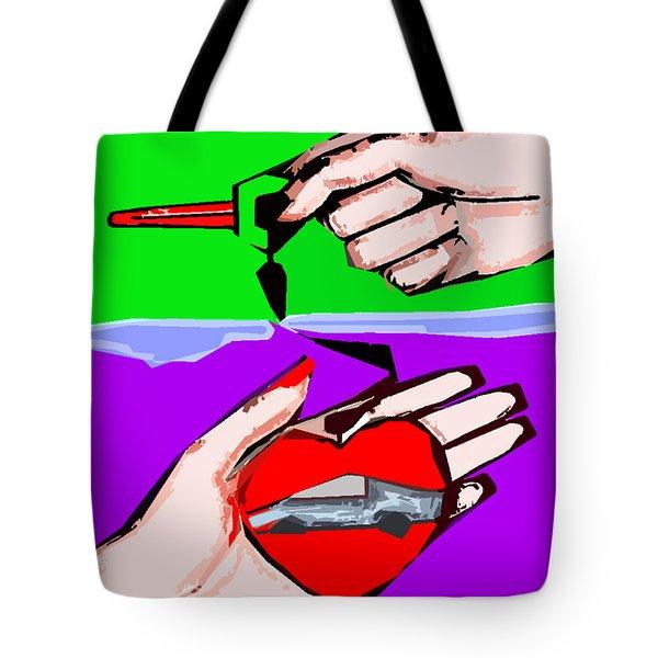 Love Affair Tote Bag by Patrick J Murphy