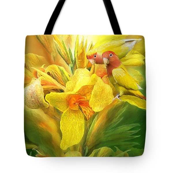 Love Among The Orchids Tote Bag