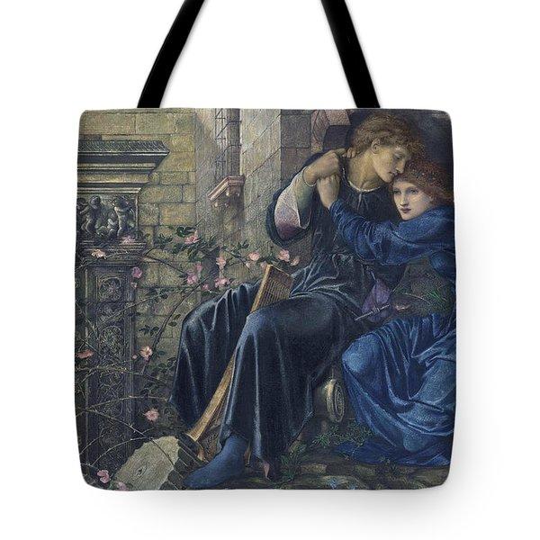 Love Among The Ruins Tote Bag