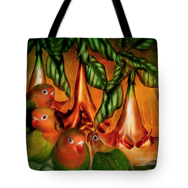 Love Among The Trumpets Tote Bag by Carol Cavalaris