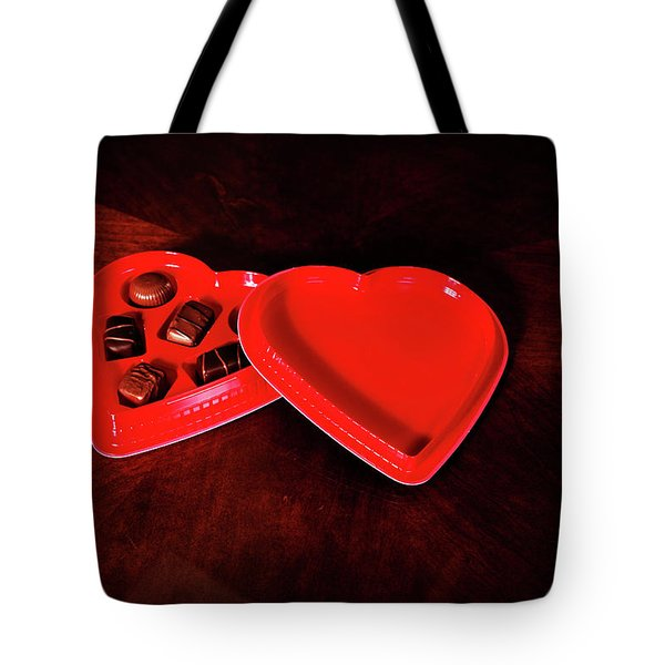 Love And Chocolate Tote Bag