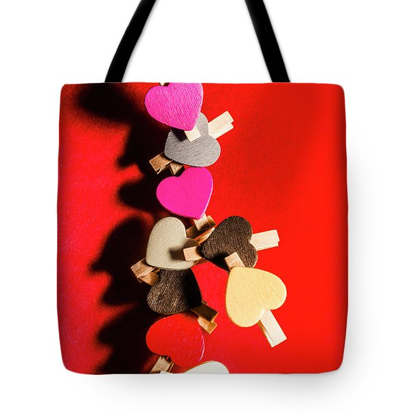 Love And Connection Tote Bag